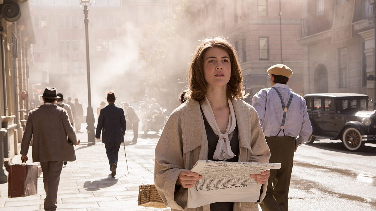 A still from the movie 'The Conductor'